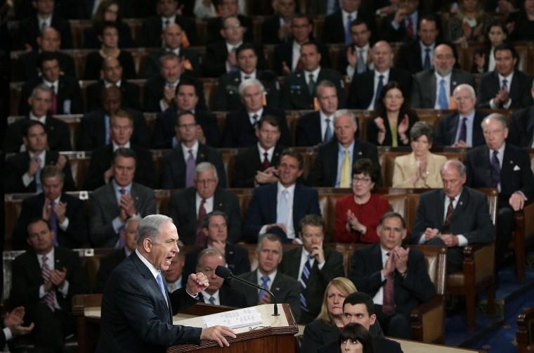 Image: Israeli PM Netanyahu Addresses Joint Meeting Of Congress