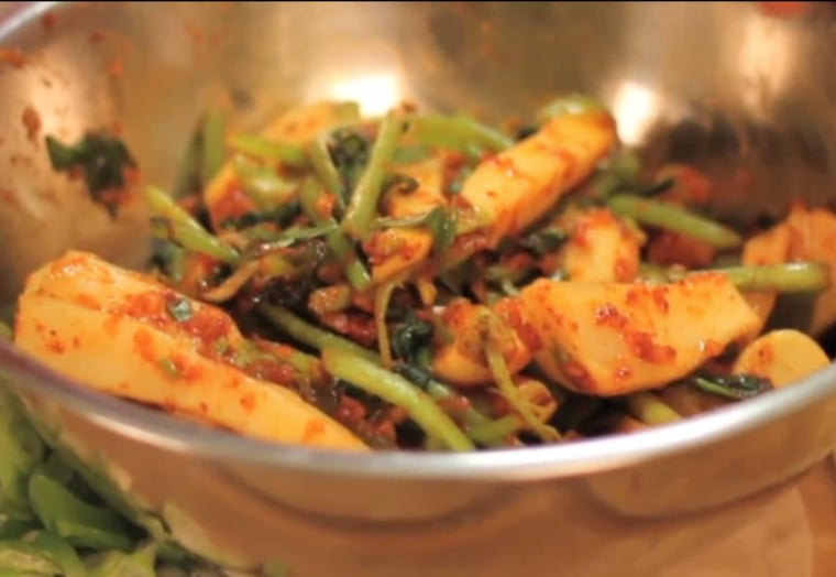 Cooking with Granny Episode 1: Hand-Mixed Kimchi by Sanok Kim