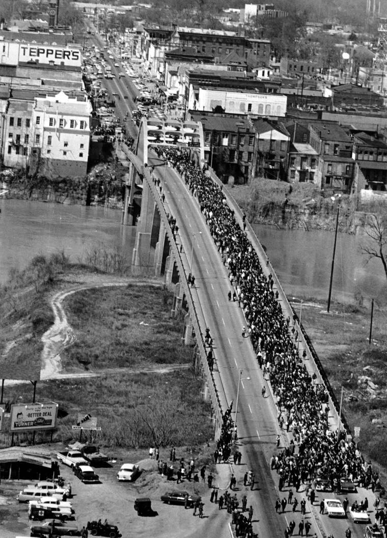 Image:Edmund Pettus Bridge at Selma