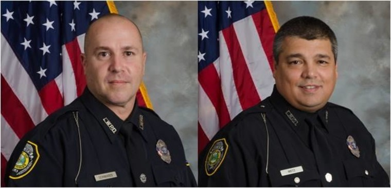 IMAGE: Lake Wales, Florida, officers wounded in ambush