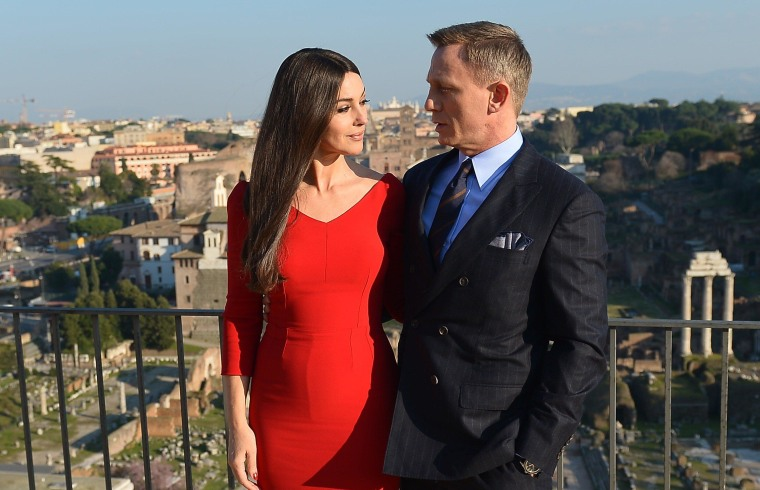Image: Monica Bellucci and Daniel Craig