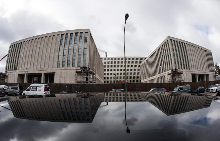 Image: Exterior view on the new headquarters of the German Federal Intelligence Service