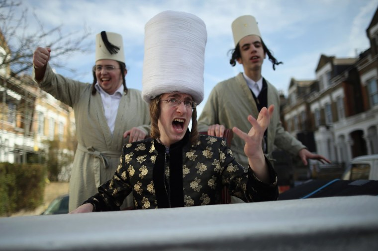Image: London's Jewish Community Celebrate Purim