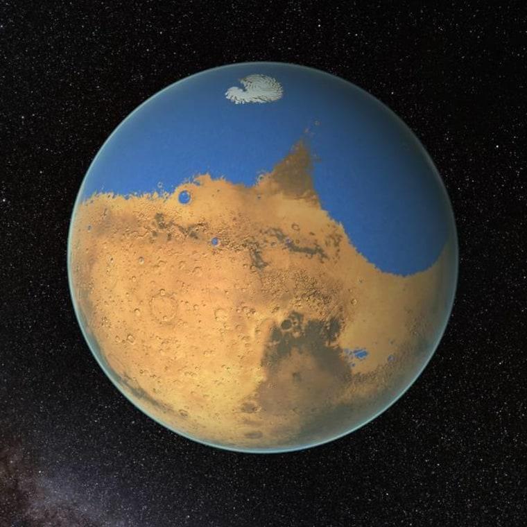 Wet Planet: NASA Says Mars Once Held More Water Than Arctic Ocean