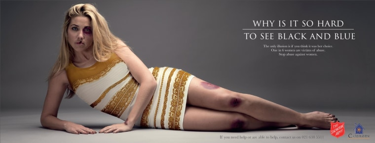 Image: A Salvation Army ad against domestic violence