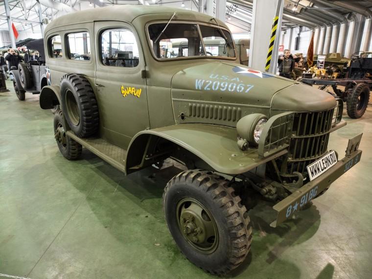 Image: A U.S.-made WWII-era Dodge WC-17