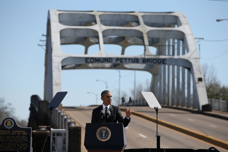 Image: Selma Commemorates 50th Anniversary Of Historic Civil Rights March