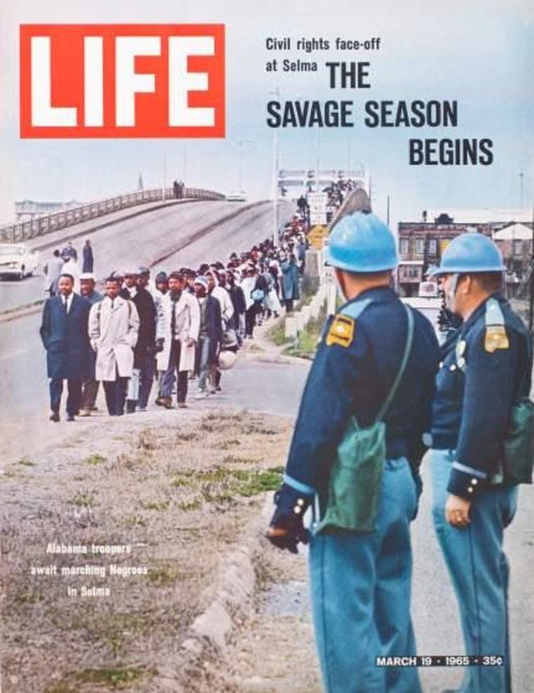 Time Magazine 'Selma Starts the Savage Season,' LIFE, March 19, 1965