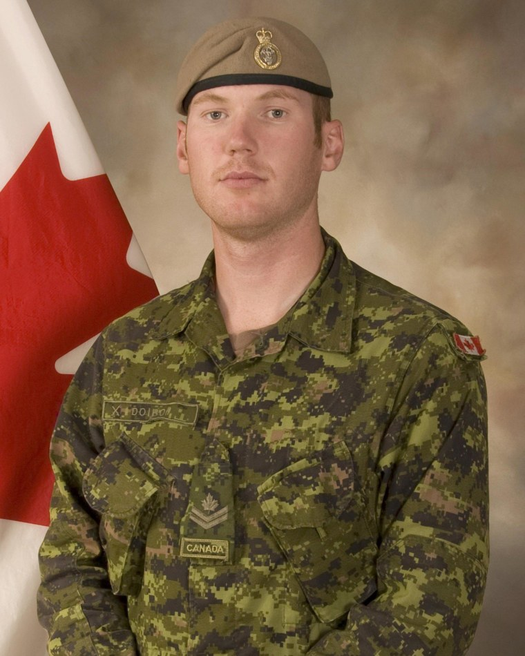 Image: Sergeant Andrew Joseph Doiron, member of the Canadian Special Operations Regiment based at Garrison Petawawa