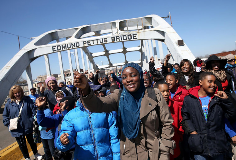 Image: BESTPIX Selma Prepares To Commemorate 50th Anniversary Of Famed Civil Rights March