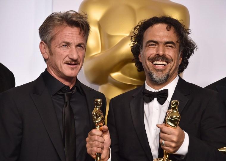 Image: Sean Penn, Alejandro Gonzalez Inarritu