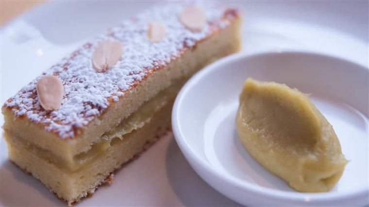 Celery Compote with Cake