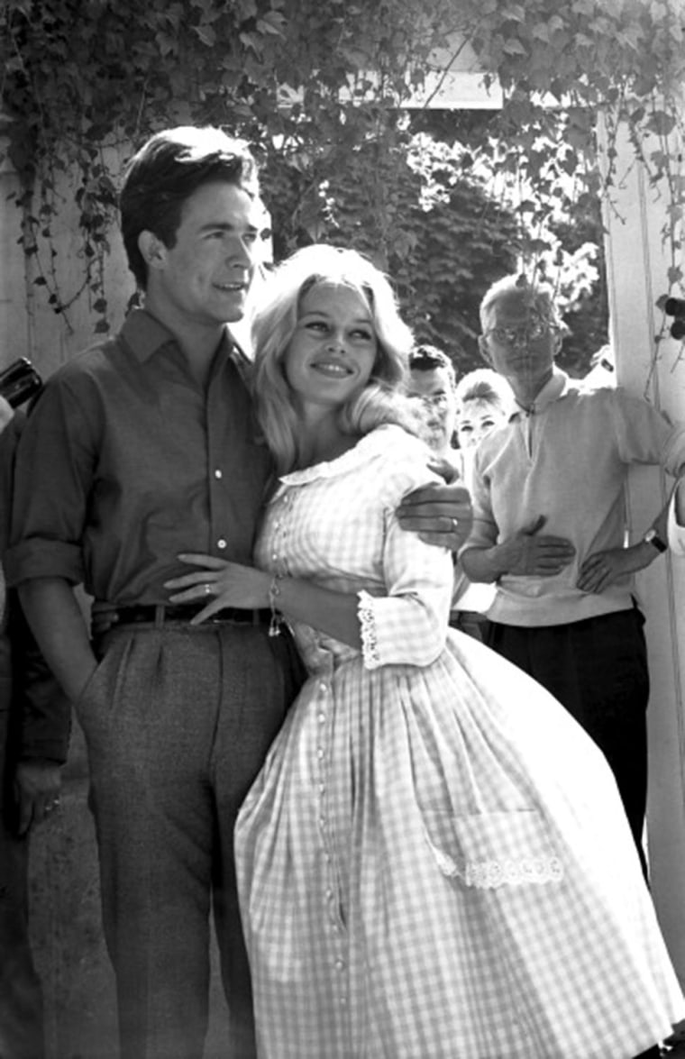 WEDDING OF BRIGITTE BARDOT AND JACQUES CHARRIER