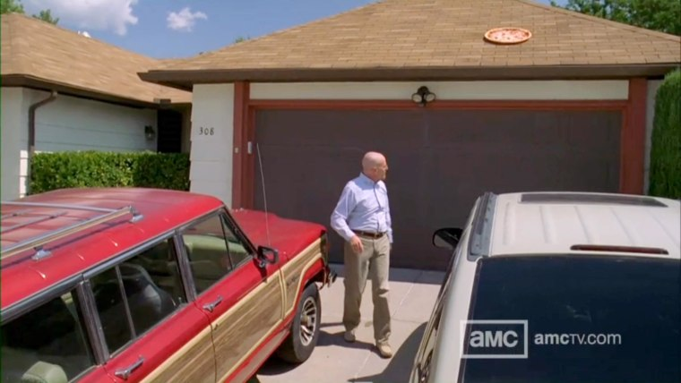 """Walter White takes out his frustrations takeout style on """"Breaking Bad."""""""