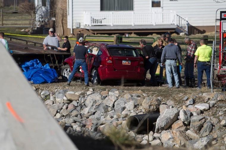 Image: Officials at scene in Spanish Fork, Utah