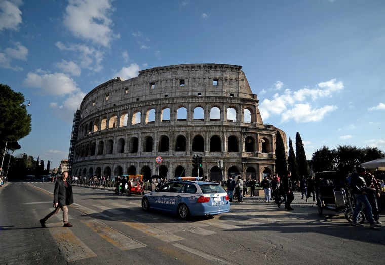 Image: ITALY-SECURITY-COLOSSEUM