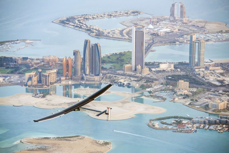 Image: Solar Impulse test flight