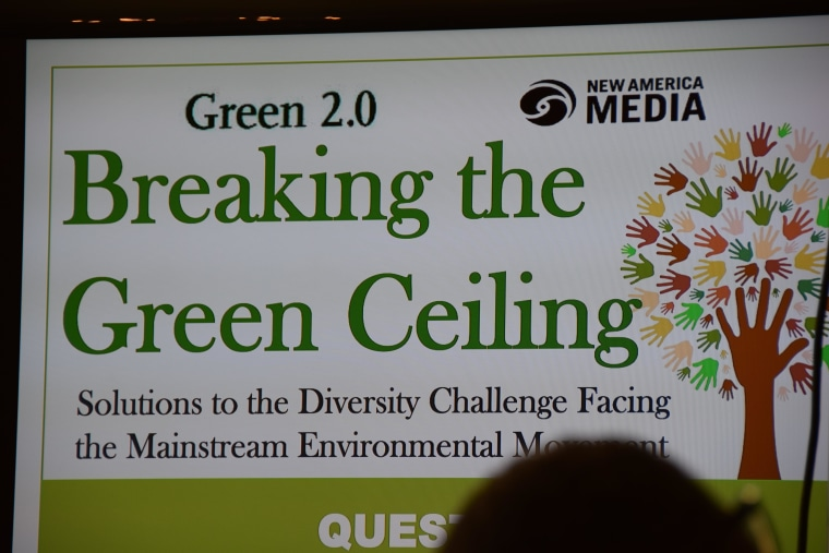 Environmental groups gathered at the Commonwealth Club in San Francisco earlier this month to discuss ways to improve diversity in the green movement.