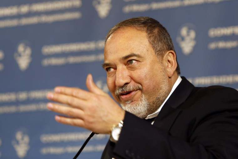 Israel's Foreign Minister Avigdor Lieberman: Disloyal Arabs Should Be Beheaded