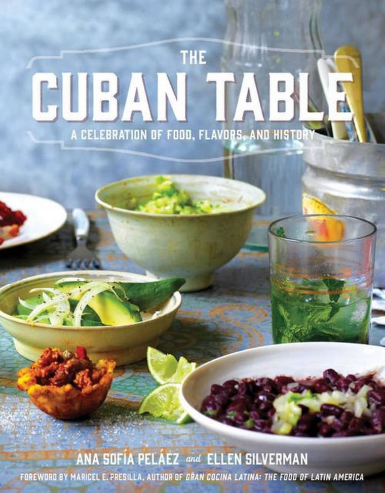 Image: The Cuban Table book cover