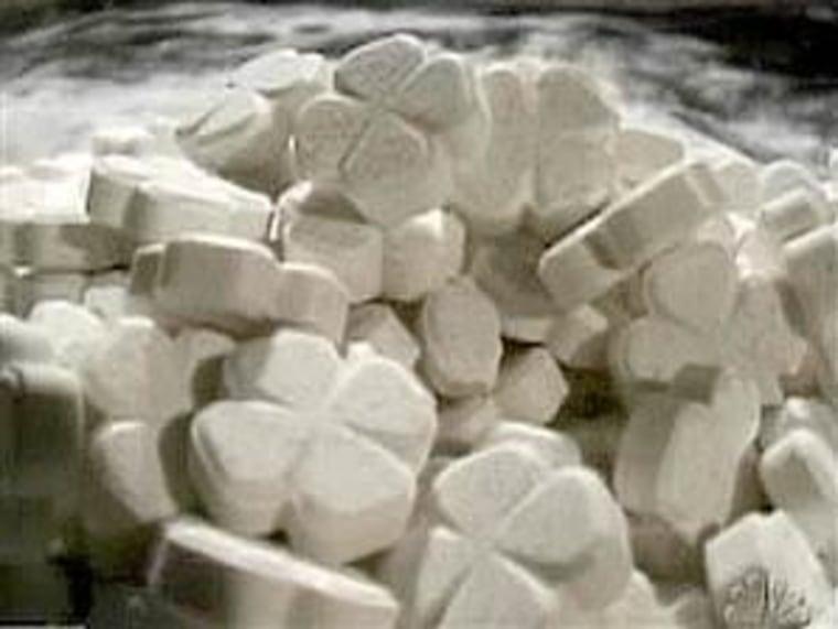 IMAGE: Ecstasy pills
