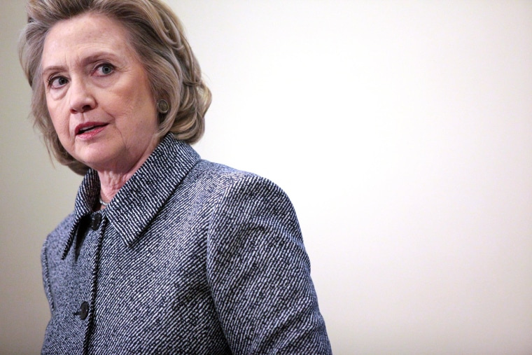 Image: Hillary Clinton Holds Press Conference Over Email Controversy