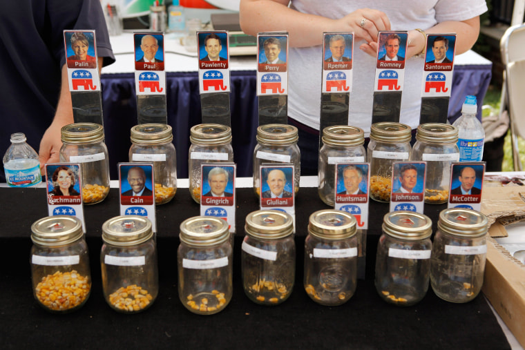 Image: BESTPIX  Republican Candidates Campaign In Iowa Ahead Of Debate And Straw Poll