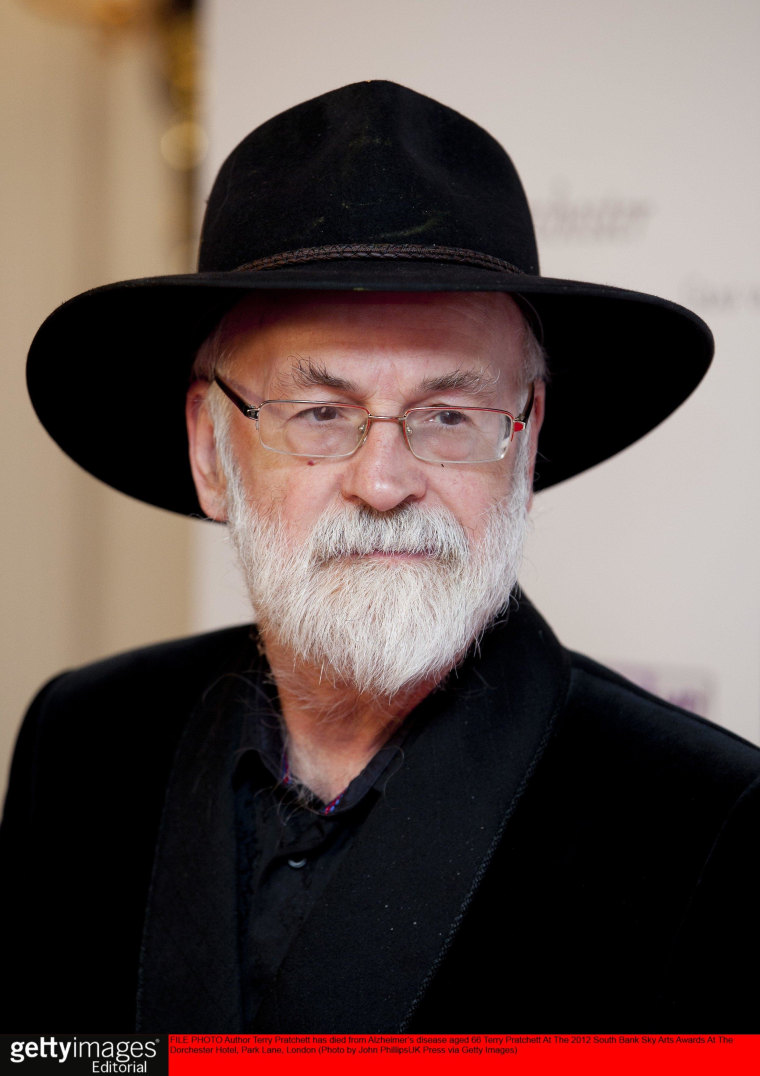 Image: FILE PHOTO: Author Terry Pratchett Dies Aged 66