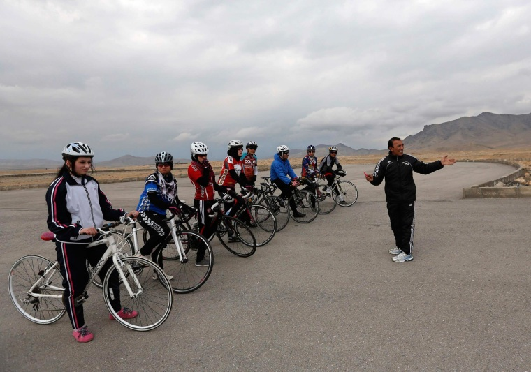 Image: Afghanistan's Women Cyclists