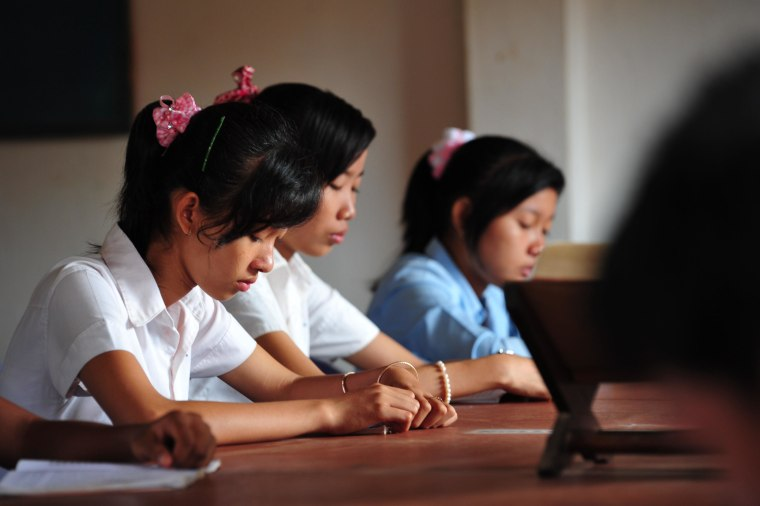 The Asia Foundation works to increase gender equality in schools in Cambodia by providing scholarships so girls from poor, rural areas can attend school.