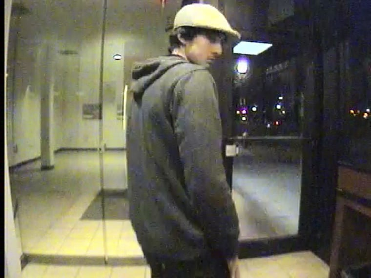 Image: Handout of a still image from surveillance video of the Boston Marathon bombing suspect Dzhokhar Tsarnaev