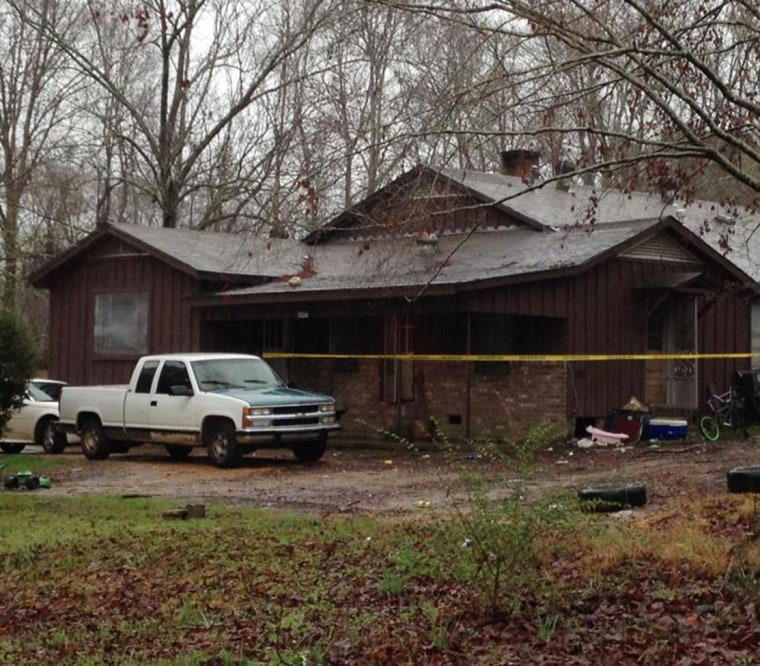 Image: Five people were shot at a home in Brookhaven, Mississippi early on March 13.