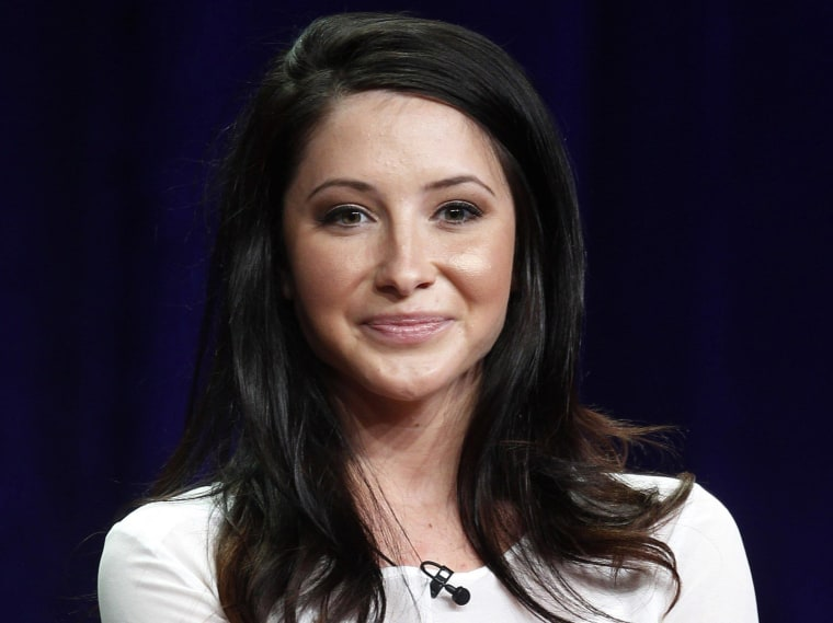 Image: Bristol Palin speaks at panel discussion during Television Critics Association Summer press tour in Beverly Hills
