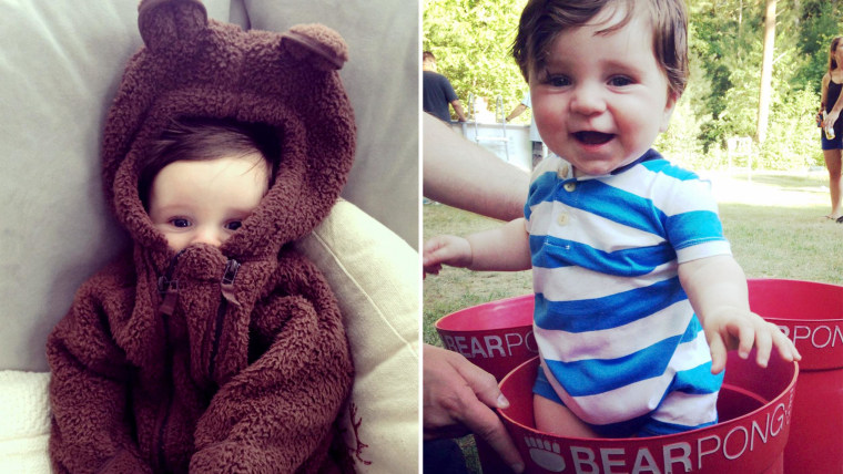 """""""Is it even worth having a baby if you're not going to dress him up as a bear?"""""""