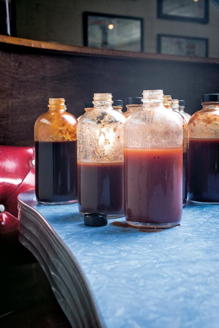 The espresso barbecue sauce and more from Franklin Barbecue.