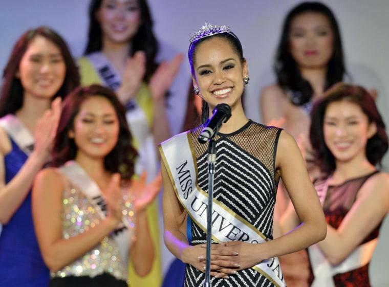 Image: Ariana Miyamoto to represent Japan at Miss Universe