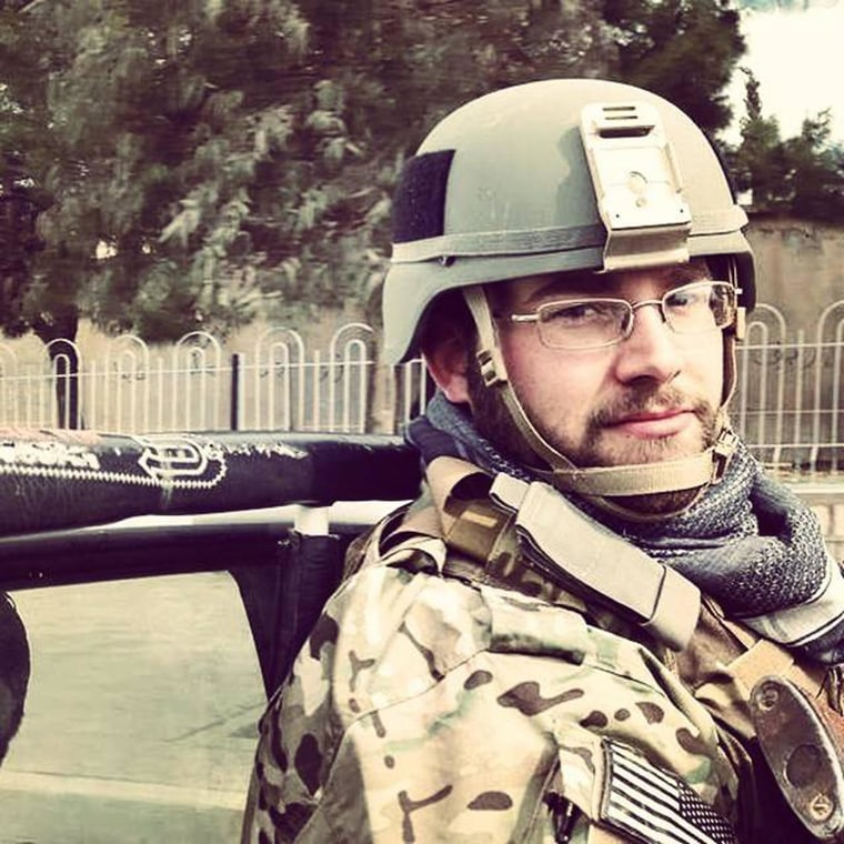 American Aaron Core has joined Kurdish fighters in northern Iraq battling ISIS forces.