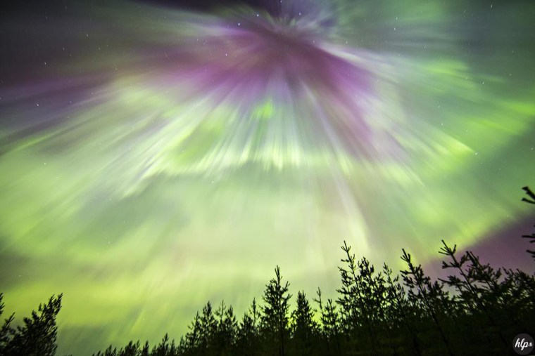 Powerful Solar Storms Ignite Vivid Auroras