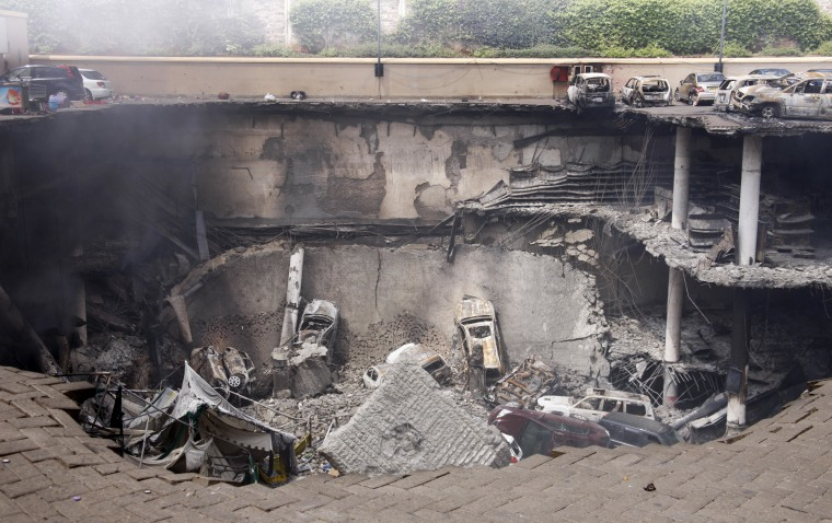 Image: Aftermath of 2013 Kenyan mall attack