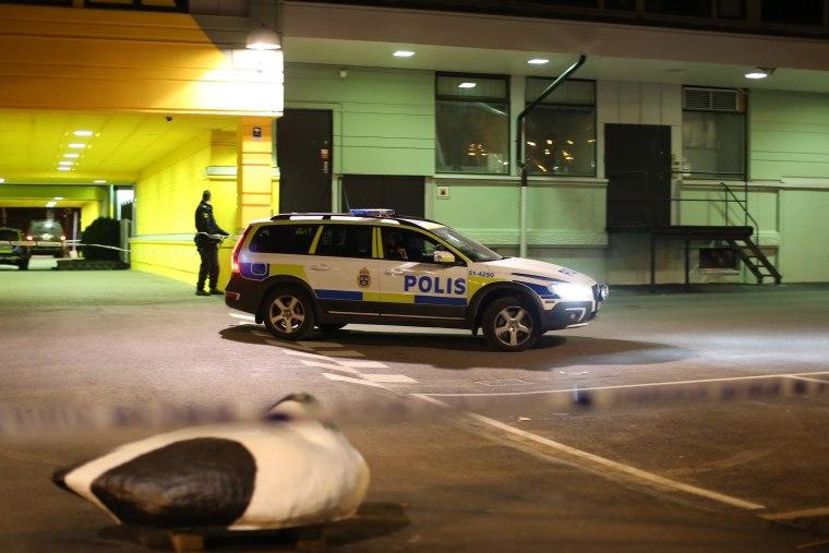 Image: Fatal gun attack on Swedish restaurant