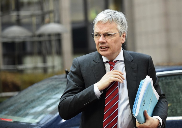Image: Belgian Foreign Minister Didier Reynders