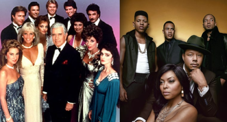 """Cast of """"Dynasty"""" and """"Empire."""""""