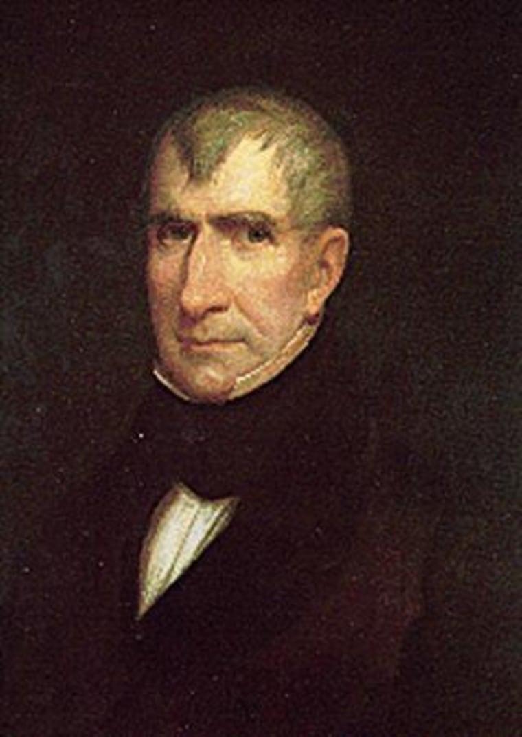 Image: A portrait of U.S. President William Henry Harrison