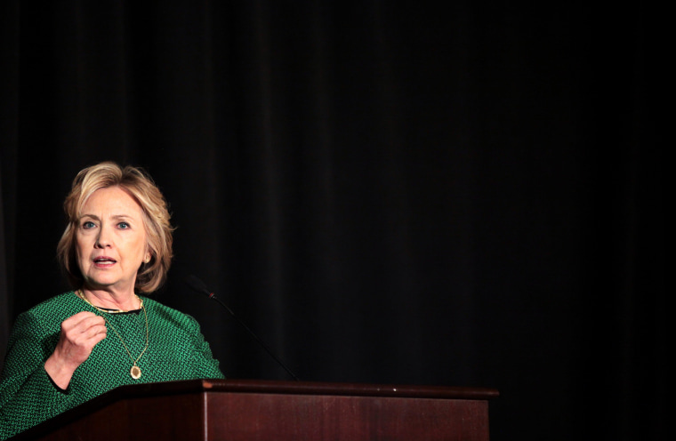 Image: Hillary Clinton Inducted Into Irish America Hall of Fame