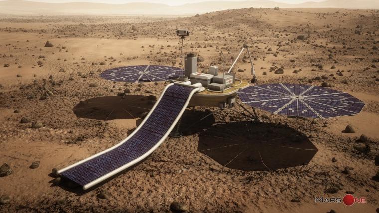 Image: Mars One lander