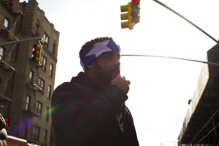Image: New York City-based Latino rap artist Bodega Bamz