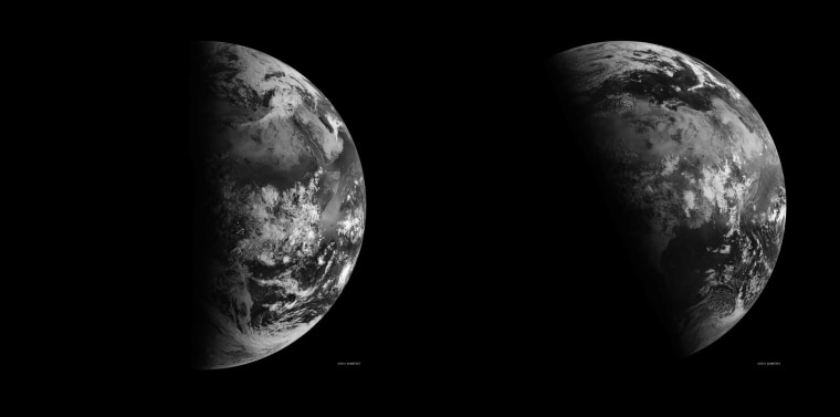 Image: Spring and summer view of Earth