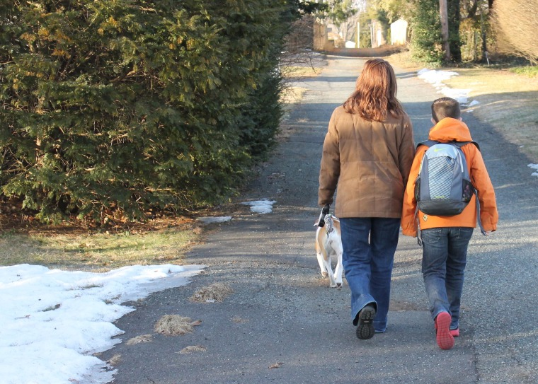 Some critics would have you believe that I'm what's wrong with American parenting... because I walk my son to school.