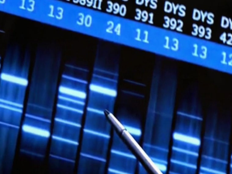 Image: DNA readings