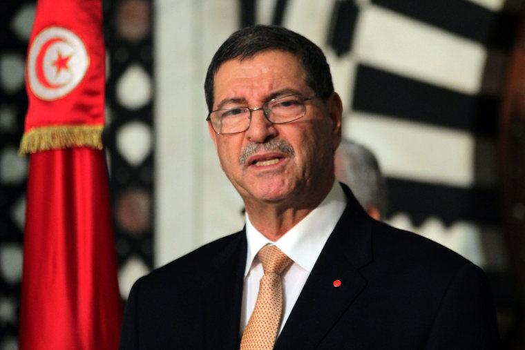 Image: Tunisian Prime Minister Habib Essid